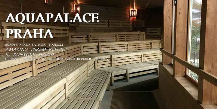 アクアパレスプラハの個室サウナ